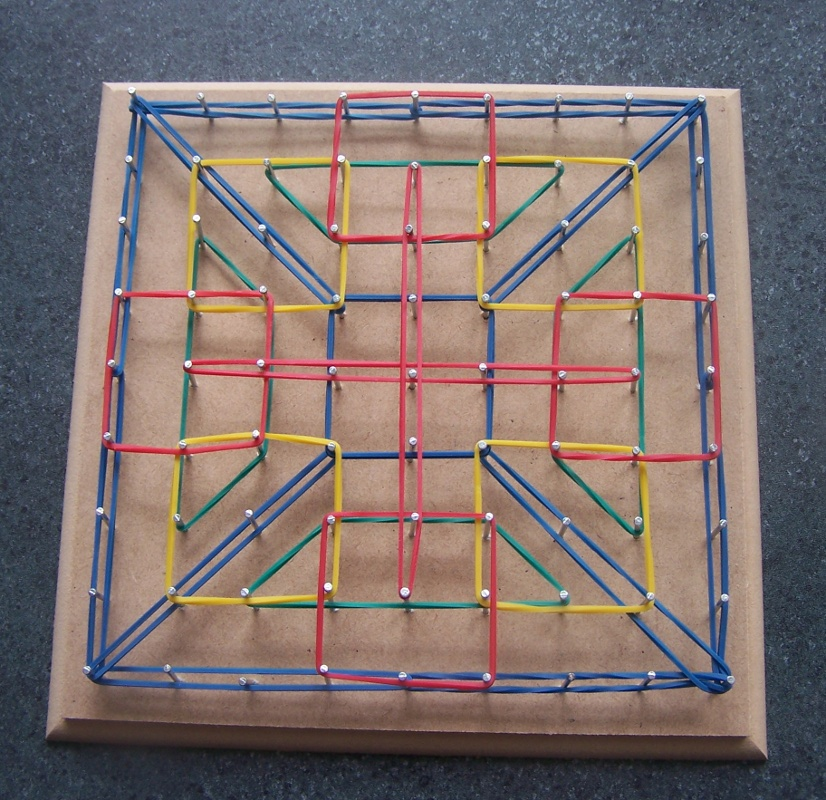 Making A Geoboard Vicarious Thoughts